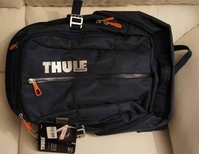 Mochila Thule Crossover 25L, como véis no le he quitado todavía la etiqueta