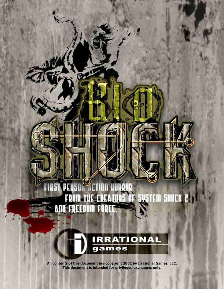 Foto de 'BioShock', documentos originales (1/9)
