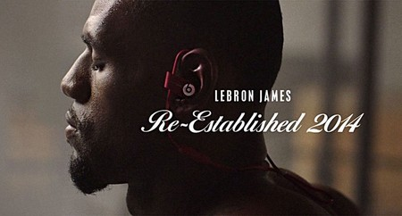 Beats by Dre nos presenta a LeBron en el gimnasio con el tema 'Take me to church'