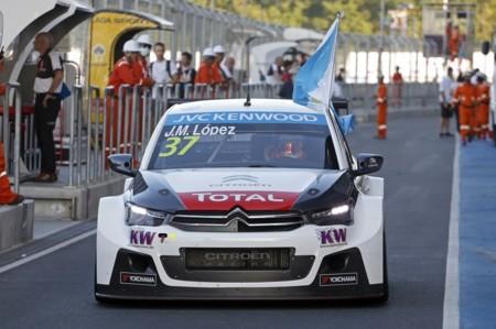Pechito López, bicampeón del mundo del WTCC con su Citroën C-Elysée