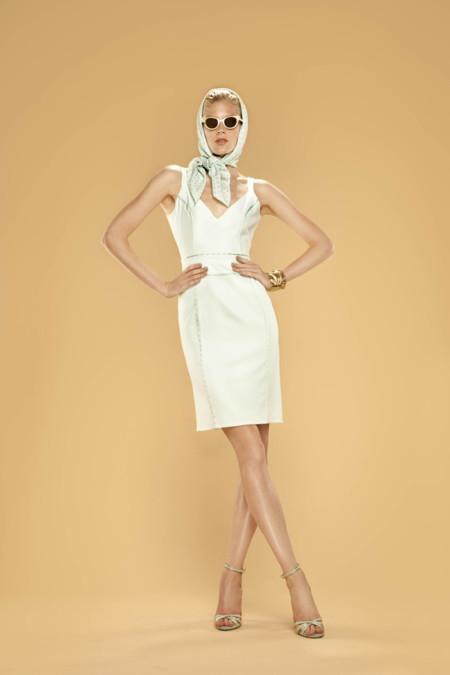 Vestido escote V Dolores Promesas Resort Primavera-Verano 2014
