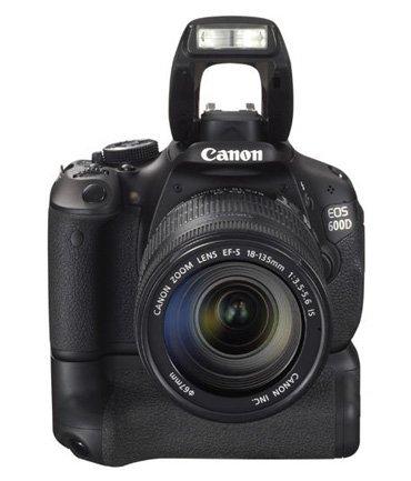Canon EOS 600D - grip