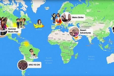 Snapchat se ha gastado más de 250 millones de dólares para que sepas dónde están tus contactos
