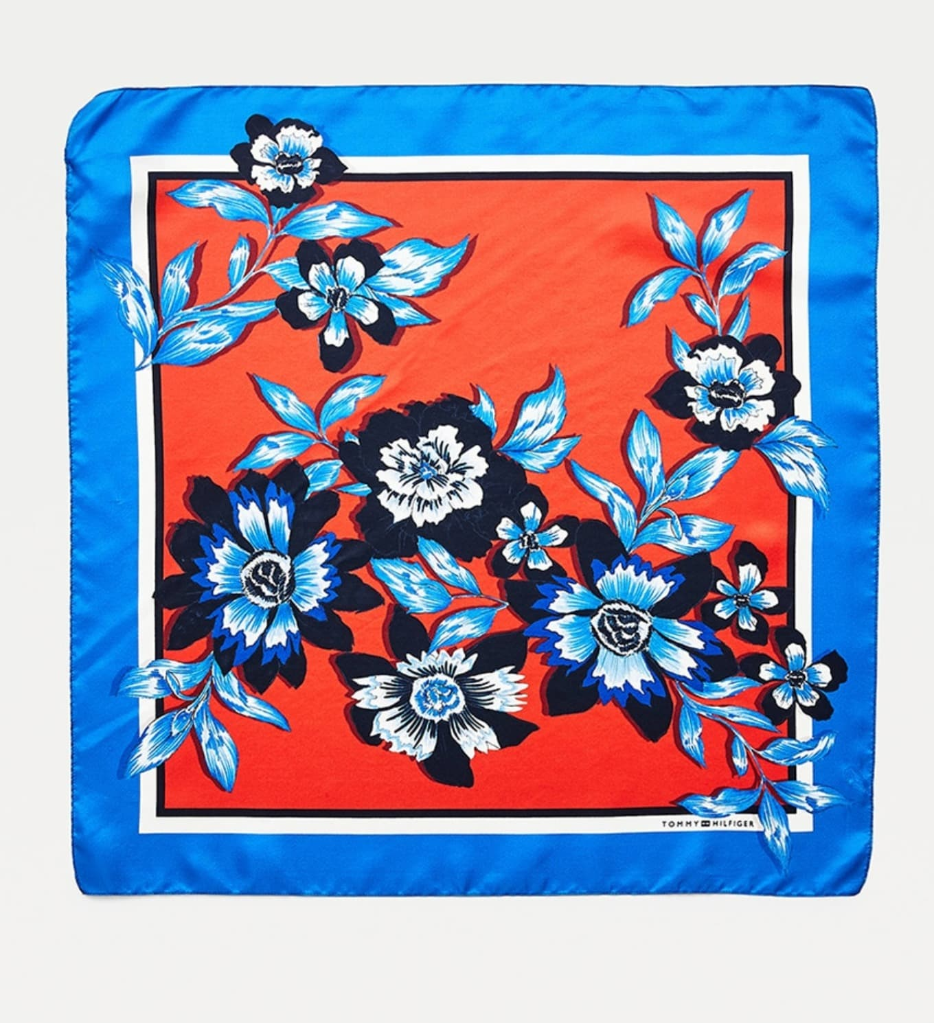 Pañuelo de mujer Tommy Hilfiger azul claro