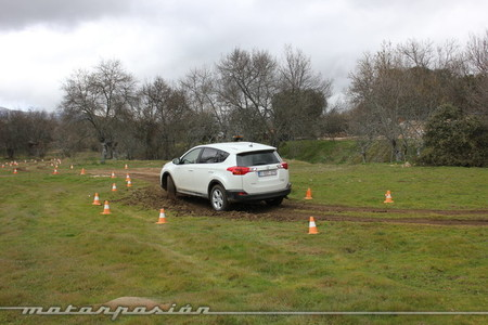 Toyota RAV4 2013, circuito