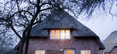 Un viejo pajar reconvertido en casa de vacaciones en las Islas Frisias