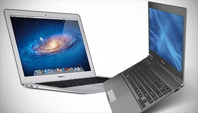 Los equipos Ultrabook no dan caza a los MacBook Air