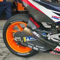 Honda busca la perfección en MotoGP y añade a sus pruebas un nuevo basculante de fibra de carbono