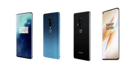 OnePlus 8 y 8 Pro vs OnePlus 7T y 7T Pro: todo lo que ha cambiado en los nuevos gama alta