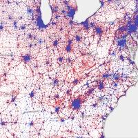 Todos los mapas electorales de Estados Unidos están mal. Pero este es el más preciso