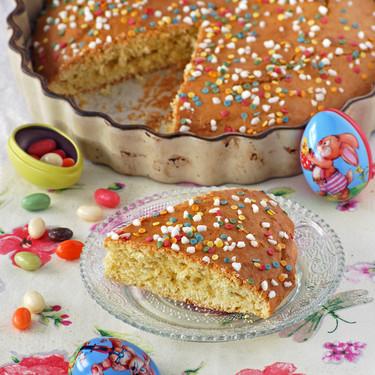 Receta de torta pasqualina o bizcocho italiano de Pascua: un humilde dulce tradicional que te conquistará