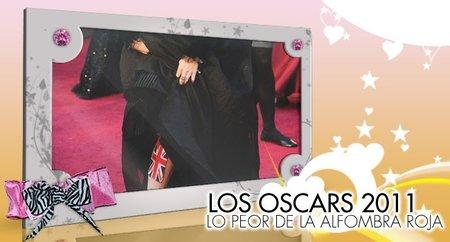 Los Famosos en los Oscars 2011: Lo peorcito de la Alfombra Roja