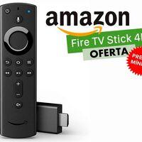 Amazon te deja el Fire TV Stick 4K a precio mínimo, por 39,99 euros y te lo envía a tiempo para Reyes