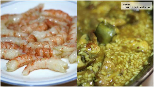 marisco y arroz