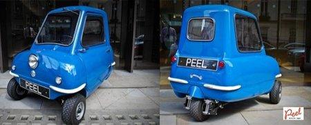 Peel P50, el coche más pequeño del mundo se volverá a fabricar