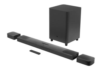 Esta sí es una barra de sonido realmente inalámbrica: la nueva Bar 9.1 Dolby Atmos de JBL usa altavoces satélite con batería