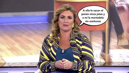 Carlota Corredera revela los privilegios de los que goza María Teresa Campos cada vez que pisa Telecinco