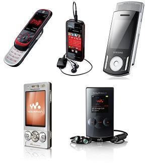 Mejor móvil musical de 2008