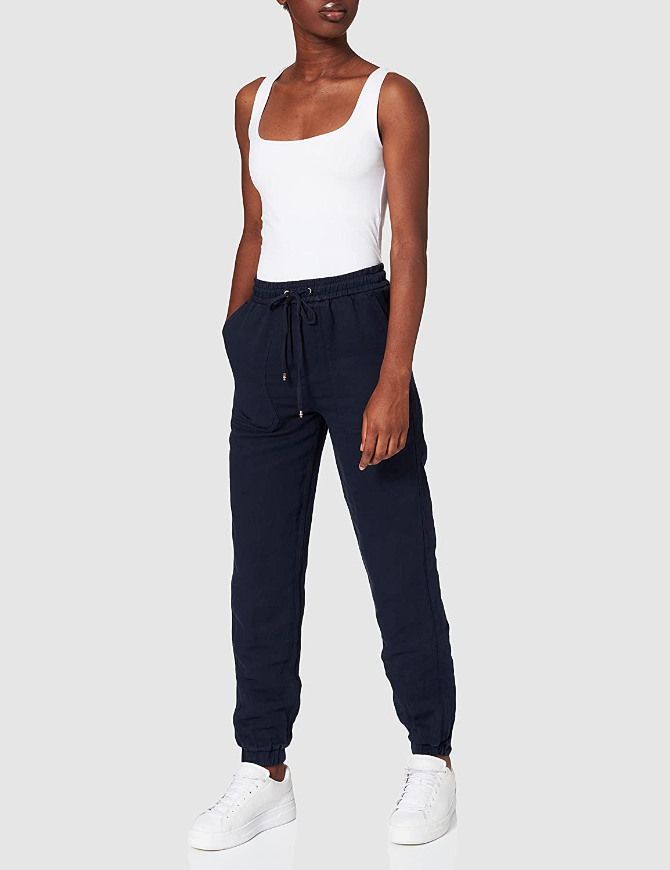 Tommy Hilfiger Soft Co Straight Pull On Pant Regular Pantalones para Mujer
