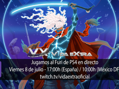 Jugamos en directo al Furi de PS4 a partir de las 17:00h (las 10:00h en Ciudad de México) (actualizado)