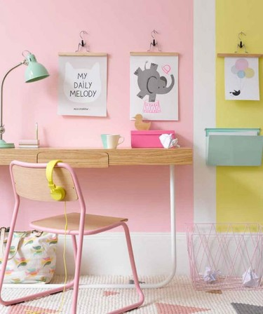 Nueve ideas para dormitorios infantiles muy creativos y llenos de color