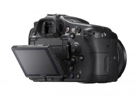 Sony A77 II trasera pantalla