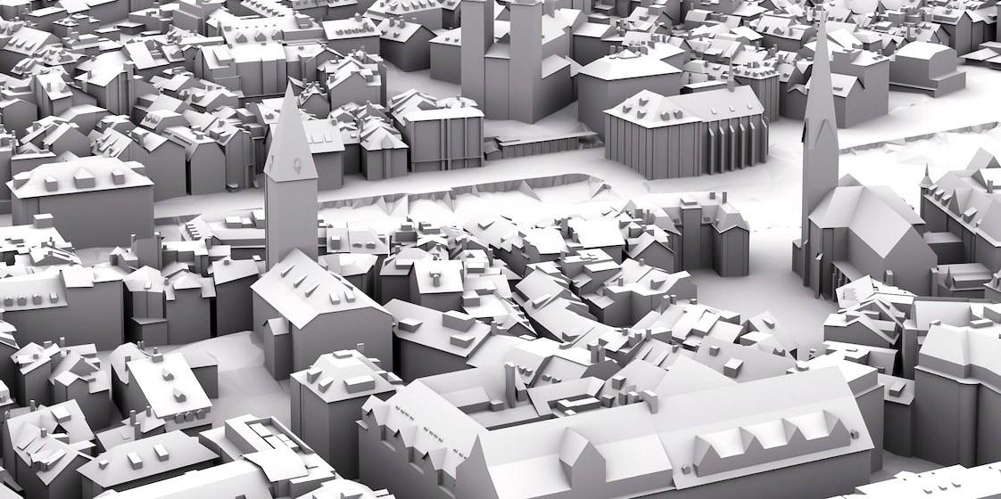 Zúrich libera un detallado mapa 3D con sus 50.000 edificios para ayudar a planificar el futuro de la ciudad