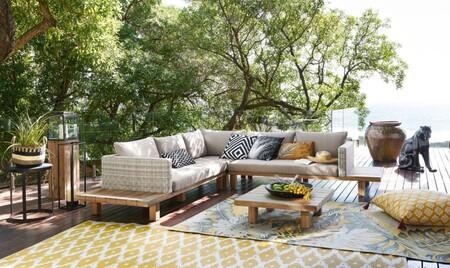 Once alfombras con mucho estilo de Maisons du Monde tanto para el exterior como para el interior