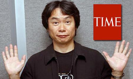 Miyamoto es menos influyente que Miley Cyrus y Britney Spears, según TIME