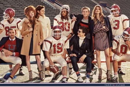 Tommy Hilfiger anota un touchdown con su campaña fall-winter 2015