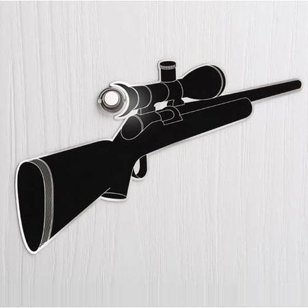 escopeta mirilla