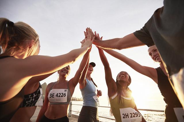 ¿Qué puedes encontrar en un grupo de corredores?