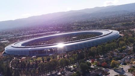 En el último vídeo a vista de drone el Apple Park se integra al completo en Cupertino