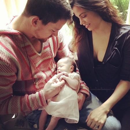 Me muero de ternura con Channing Tatum presentando a su nena