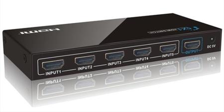 Conmutador HDMI, conecta varias señales HDMI a una única toma en tu TV