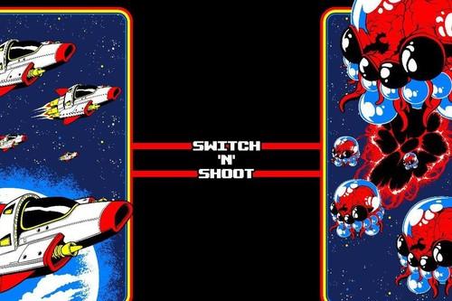 Análisis de Switch 'N' Shoot, un matamarcianos de un solo botón idóneo para la consola híbrida de Nintendo