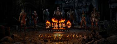 Estos son todos los personajes de Diablo 2 Resurrected: ¿con cuál regresarás a Santuario?