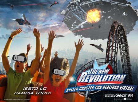 La primera montaña rusa con realidad virtual en México se estrenará en 2017