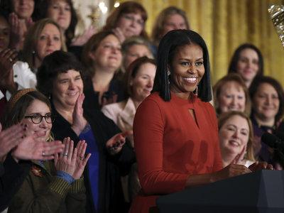 Radiante y emocionada, Michelle Obama se despide de la Casa Blanca con un discurso magnífico