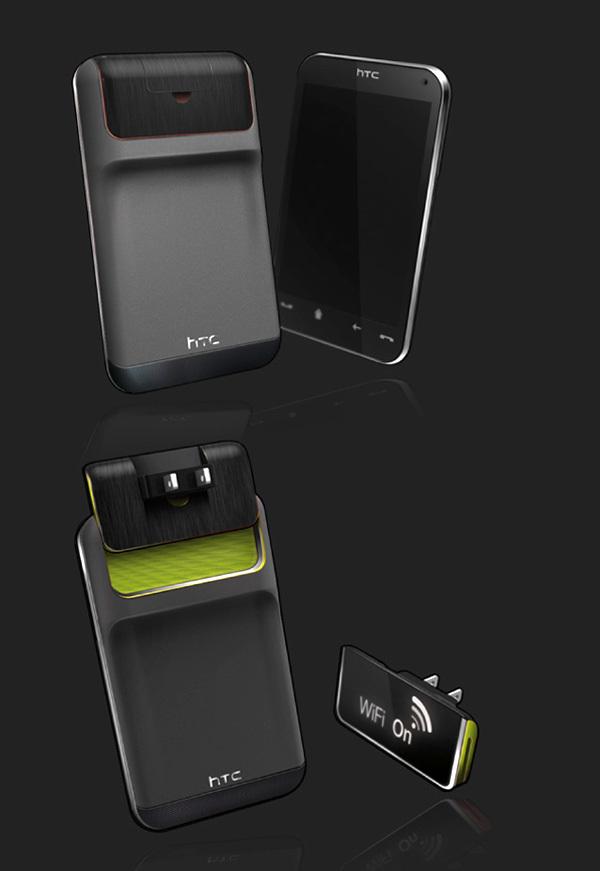 Foto de Concepto de enchufe integrado en el móvil (7/7)
