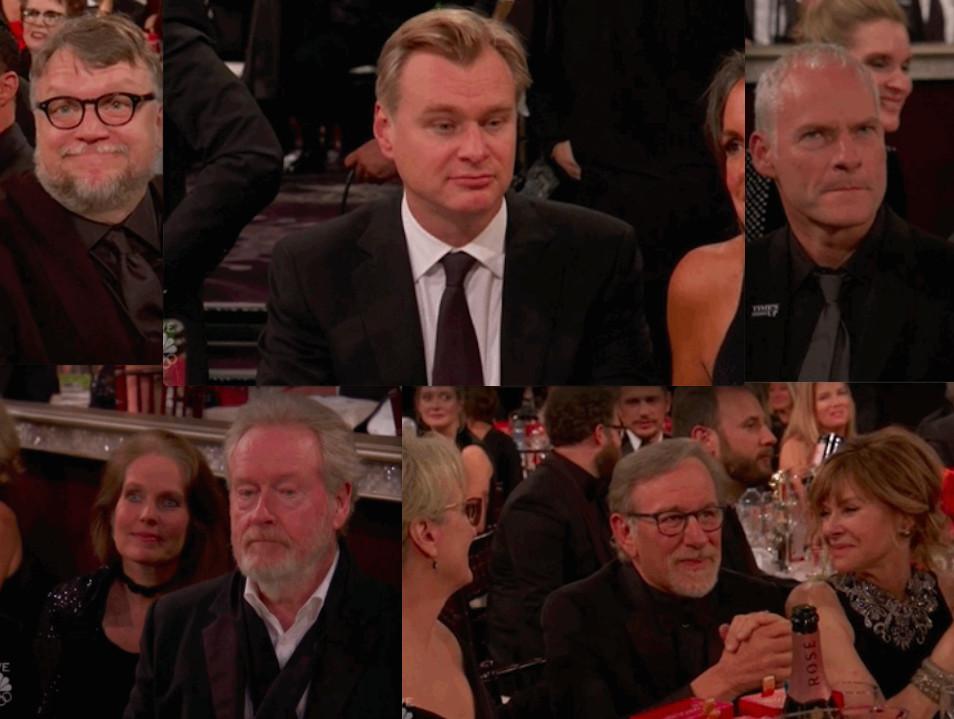 Los directores nominados al Globo de Oro