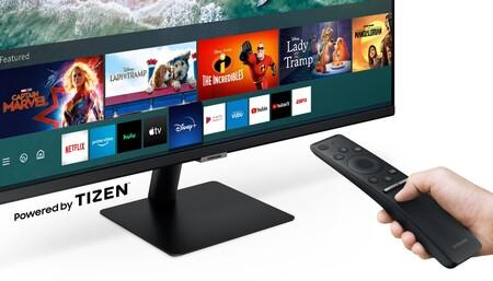 Este monitor Samsung de 27 pulgadas incorpora Smart TV y hoy está a su precio mínimo en Amazon: llévatelo por 50 euros menos