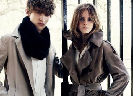 Emma Watson para Burberry Otoño-Invierno 2009/2010 II