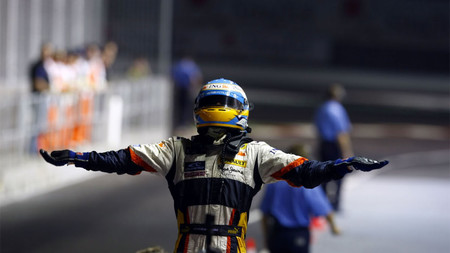 Alonso Singapur F1 2008