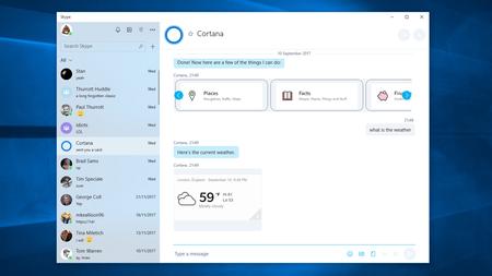 Skype para Windows 10 recibe algo de Fluent Design y es otra decepción para la lista