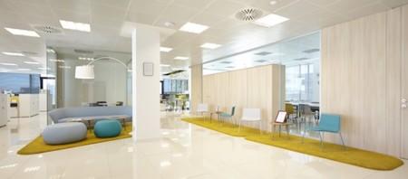 Espacios para trabajar: las oficinas de Eurofred