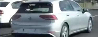 ¡Espiado! El Volkswagen Golf 2020 sigue coqueteando con la cámara