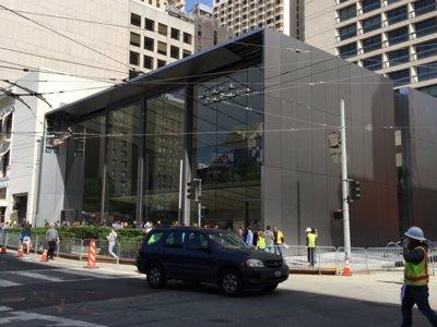 Apple muestra su nueva tienda Flagship de San Francisco justo en el 15 aniversario de las Apple Store