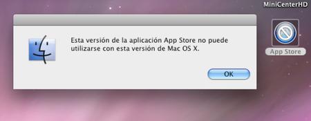 Limitación Mac App Store