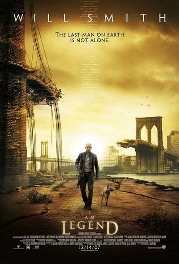 Trailers y nuevo póster de 'Soy Leyenda'